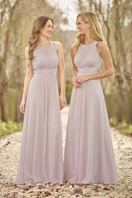 F54 Halter Chiffon bridesmaid dresses, Cheap bridesmaid dresses, Long bridesmaid dresses, cute bridesmaid dresses, simple bridesmaid dresses